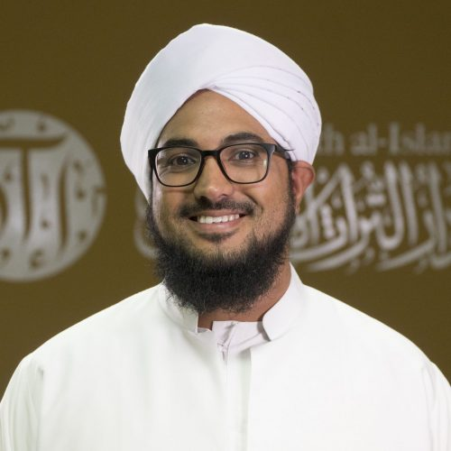 Shaykh Abdurragmaan Khan completed the memorization of the Qur'an under Shaykh Ismail Londt at the Dār Ubaiy Institute in 2000. He went on to graduate from the Dār al-'Ulūm al-'Arabiyyah al-Islāmiyyah in Strand in 2006, benefiting greatly from its lecturers, particularly its founder and principal, Maulana Taha Karaan. After graduating, Shaykh Abdurragmaan served as a lecturer at the same institute from 2006 to 2015. In 2009, he established Dar al-Turāth al-Islāmi (DTI) and continues to serve as the Rector. In 2011, Shaykh Abdurragmaan co-founded the Maḥabbah Foundation and was honoured to join the Fatwah Committee of the Muslim Judicial Council of South Africa in 2013. He is also an Imam at Masjid Khidmah al-Islām, Taronga Road, Cape Town. In addition, he teaches for SeekersGuidance, and appears regularly on the Voice of the Cape Radio. Shaykh Abdurragmaan has received ijazah 'ammah from various luminaries, including al-Ḥabīb  'Umar bin Ḥafīẓ, who has had a significant impact on him and has changed his relationship with Allah; Maulana Yusuf Karaan, the former Mufti of Cape Town; al-Ḥabīb 'Ali al-Mashhūr, the current Mufti of Tarim; al-Ḥabīb 'Umar al-Jaylāni, the Shafi'i Mufti of Makkah; Sayyid Ahmad bin Abi Bakr al-Ḥabshi; al-Ḥabīb Kāẓim al-Saqqaf; Shaykh Maḥmūd Sa'īd Mamdūh; Maulana 'Abdul Ḥafīẓ al-Makki; Shaykh Ala al-Din al-Afghāni; Maulana Fazlur Rahman al-Azami; and Shaykh Yaḥya al-Ghawthāni. Maulana Abdurragmaan received 'ijazah in the Qirā'ah of Imam Kisa'i from Shaykh Idrīs from Malawi and is currently reciting the seven Qirā'ah to Maulana Saleem Gaibie. He hopes to continue to benefit the Ummah by sharing and preserving the legacy of Imam Al-Shafi'i (radiya Allahu 'anhu).